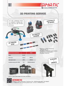 3D PRINTING SERVICE