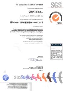 UNI EN ISO 14001:2015