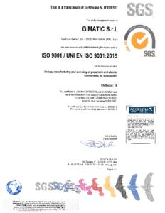 UNI EN ISO 9001:2015 UNI EN ISO 9001:2015